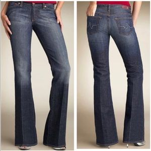 AG Jeans 'The Club' Stretch Flare Tournaline Wash